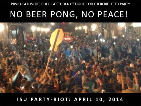 ISU Party Riot