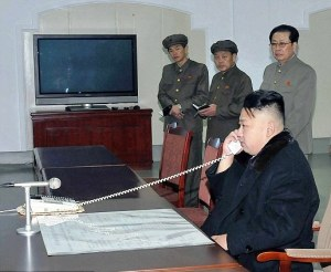 North Korean leader Kim Jung Un explaining urgent need for restored Comcast service/