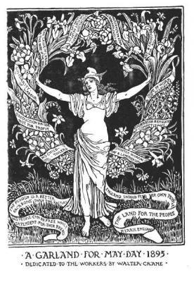 May Day Garland 1895